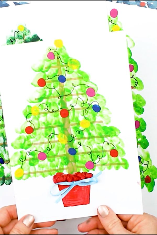 Printable Christmas Tree Art