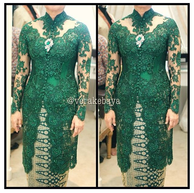#kebaya #green #formom #design by vera