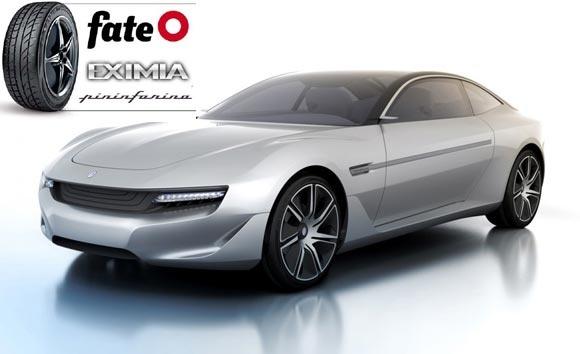 Fate desarrolló neumáticos para un concept de Pininfarina  http://autos.cr/noticias
