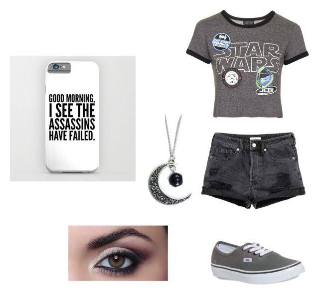 """""""Star Wars!!"""" by superwholock0627 on Polyvore featuring Topshop and Vans"""