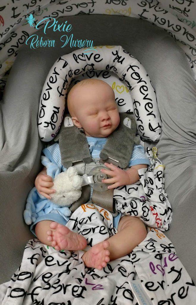 "Reborn Sleeper Clothes NEW ~ /""Wild Animals/"" Baby Boy Preemie Outfit"