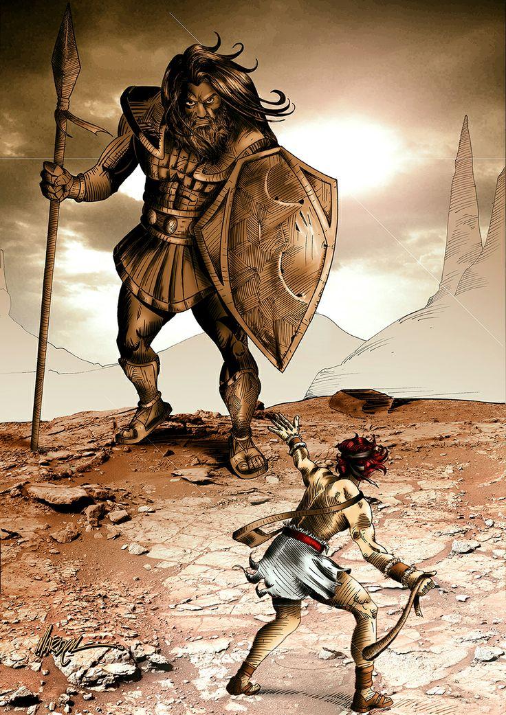 Golias Vs Davi