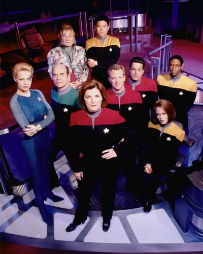 Star Trek Voyager. Loved the original series - hated the Next Generation and Deep Space 9 -but Voyager, especially in the last few series was excellent.