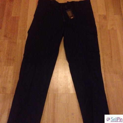 $: Australian Industrial Wear (AIW) Navy Blue Mens Pants. Size 92R. BNWT