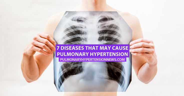 In many cases of pulmonary hypertension, the disease has developed as a result of another serious health condition.