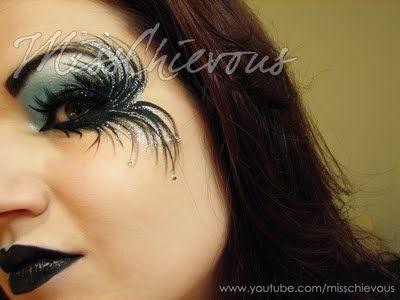 Dark+Angel+Costume+Makeup | 2012 Fallen Angel Dark Fairy Makeup For Halloween (By Misschievous ...