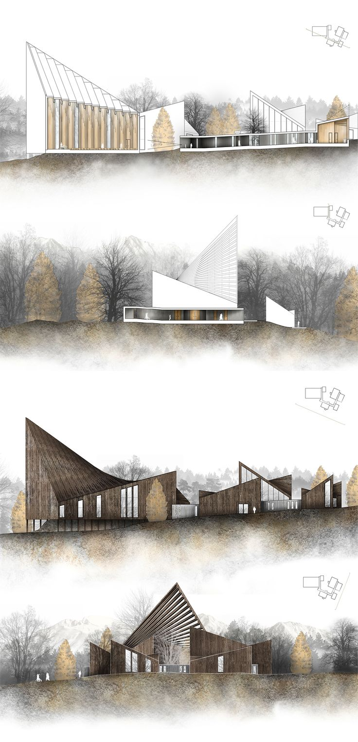 """The topic of the project module is """"Tectonic Design: Structure and Construction"""" within the task of designing a proposal for a new church at Hatlehol in Norway, for the Community of Ålesund. The goal of the project is thereby to develop an understanding o…"""