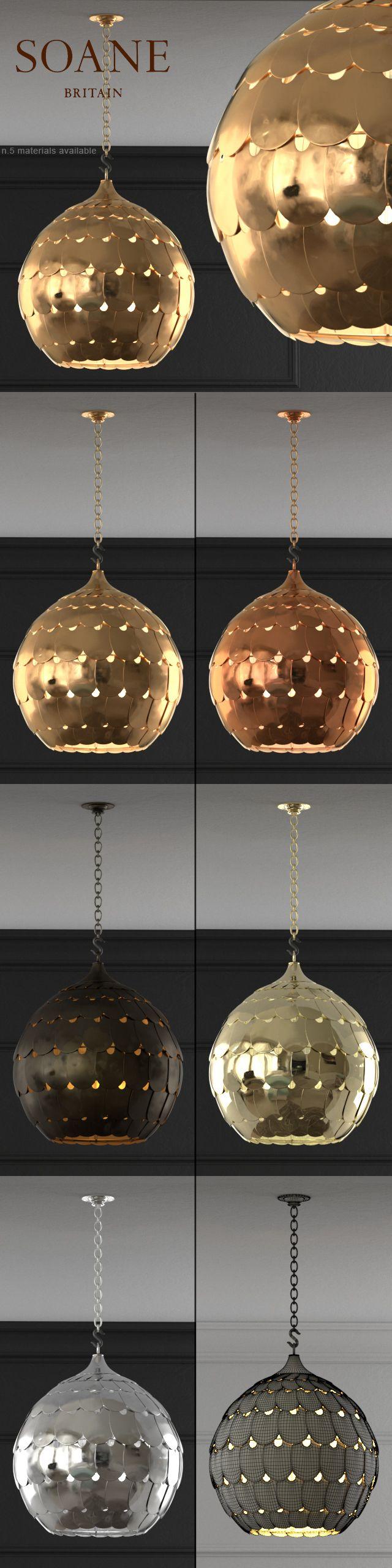 The Owl Lantern - by Soane Britain - 3D model