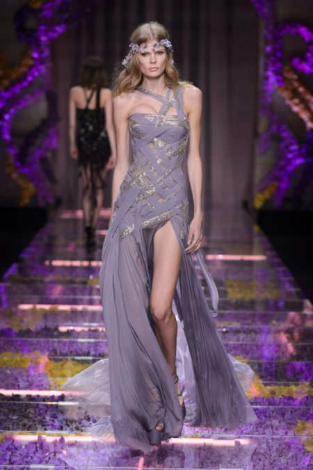 Versace At Couture Week 2015