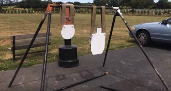How to Make Your Own Steel Target Stand [VIDEO] - Wide Open Spaces