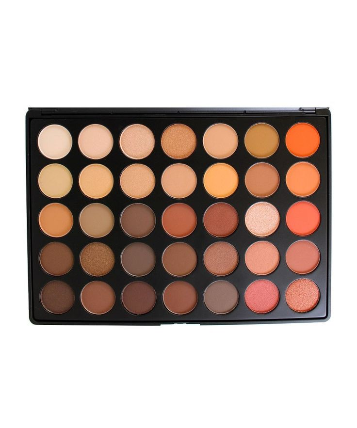 35 Colour Nature Glow Eye Shadow Palette (35O) by Morphe Brushes £20.07