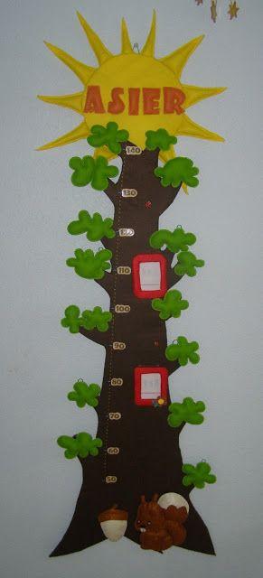 tree growth chart!
