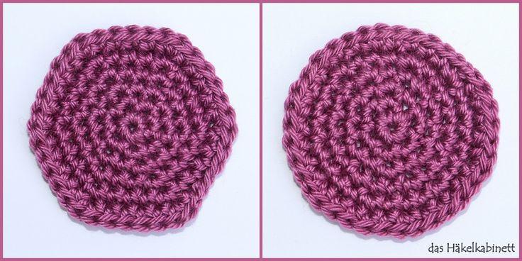 sechseckiger vs. runder Kreis