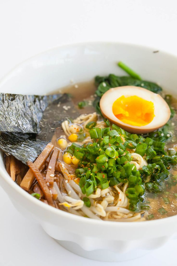 No recipes miso ramen soup