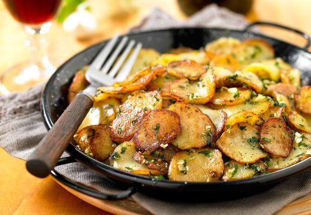Pommes de terre sarladaise Voir la recette desPommes de terre sarladaise >>