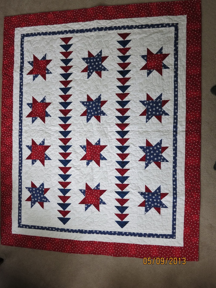701 best Americana Quilts - 2 images on Pinterest | Patriotic ... : quilts for soldiers - Adamdwight.com