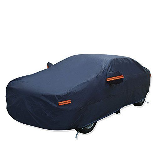 YITAMOTOR 7 Layers Breathable Universal Fit SUV, Van, and Truck Car Cover Outdoor Indoor Waterproof Rain Sun Snow Resist UV-Fits up to 206 inches (Deep Blue). For product info go to:  https://www.caraccessoriesonlinemarket.com/yitamotor-7-layers-breathable-universal-fit-suv-van-and-truck-car-cover-outdoor-indoor-waterproof-rain-sun-snow-resist-uv-fits-up-to-206-inches-deep-blue/