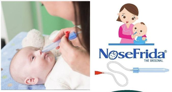 How you can use a clean baby nose aspirator