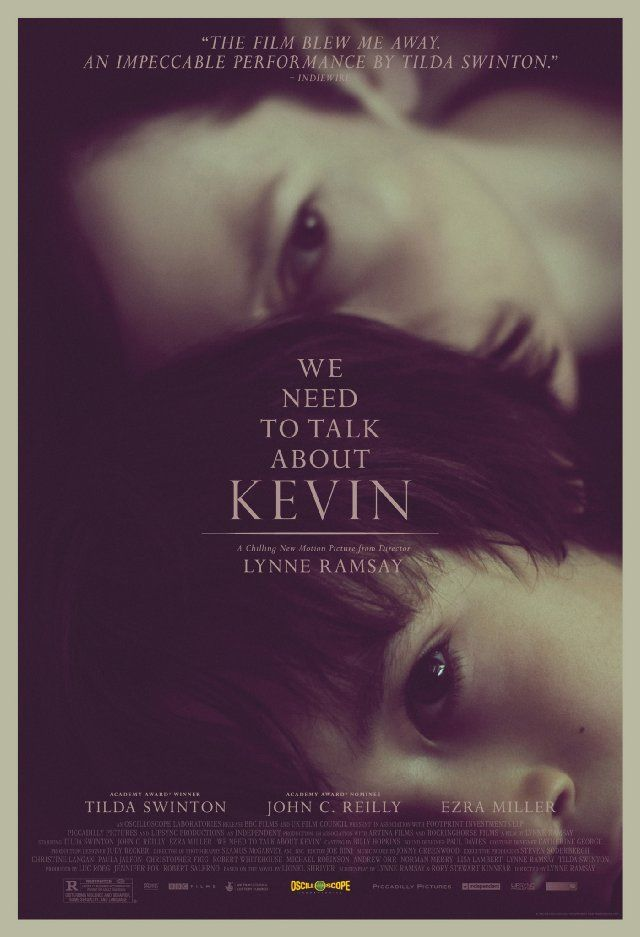 We Need to Talk About Kevin.. i was not a huge fan of this movie,  but couldn't put the book down!!