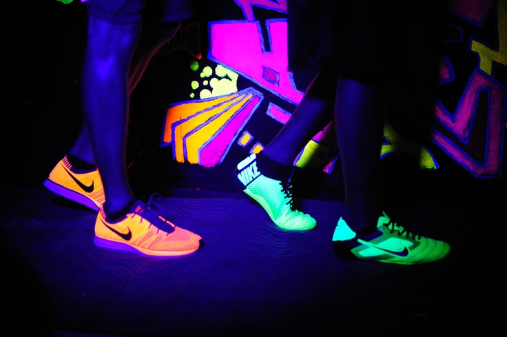 Electric Run Nikes