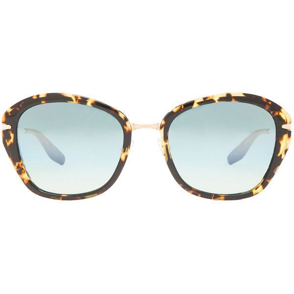 Barton Perreira Farrow Sunglasses ($520) ❤ liked on Polyvore featuring accessories, eyewear, sunglasses, barton perreira, lens glasses, acetate glasses, barton perreira sunglasses and barton perreira glasses