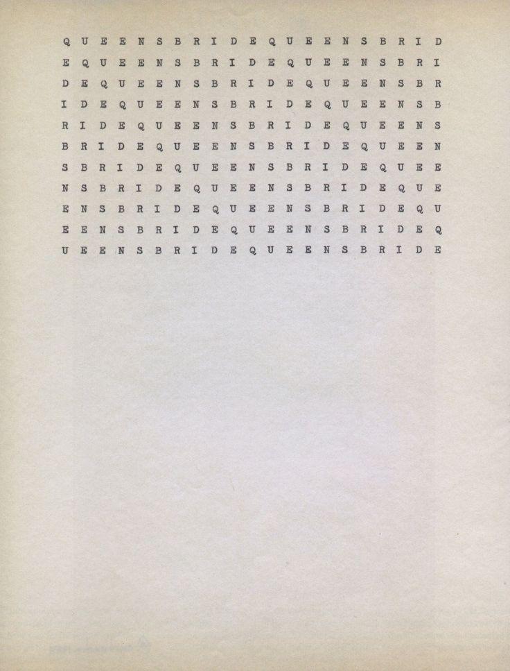Carl Andre, Poems, (1950's-1970's)  .jpg (1280×1683)