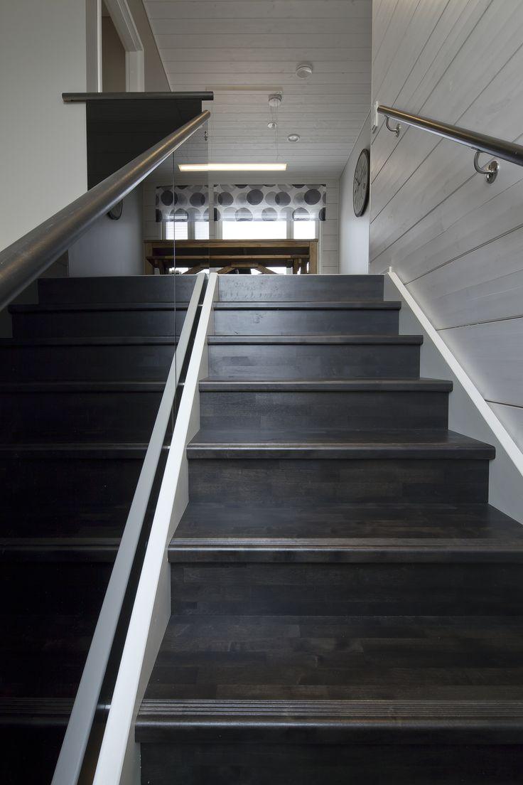 Staircase by Lappiporras Oy. Honka Harmonia.