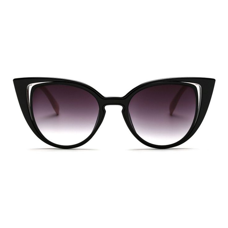 RSSELDN Woman Cat's eye Sunglasses sexy Women's Fashion Style Restoring Ancient Ways of Classical High-end Sunglasses. 97097