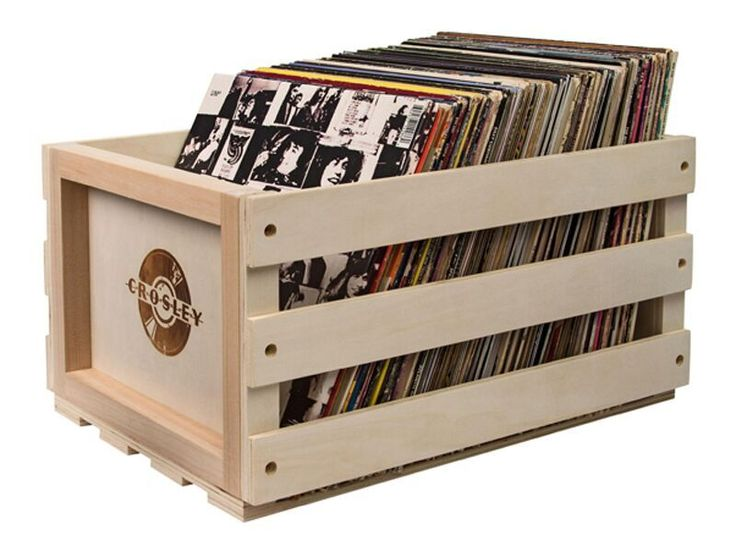 With the Crosley record crate you have the peace of mind knowing your vinyl records are organized, safe and...