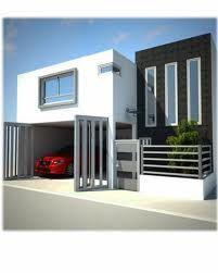 fachadas de casas minimalistas con cochera - Buscar con Google
