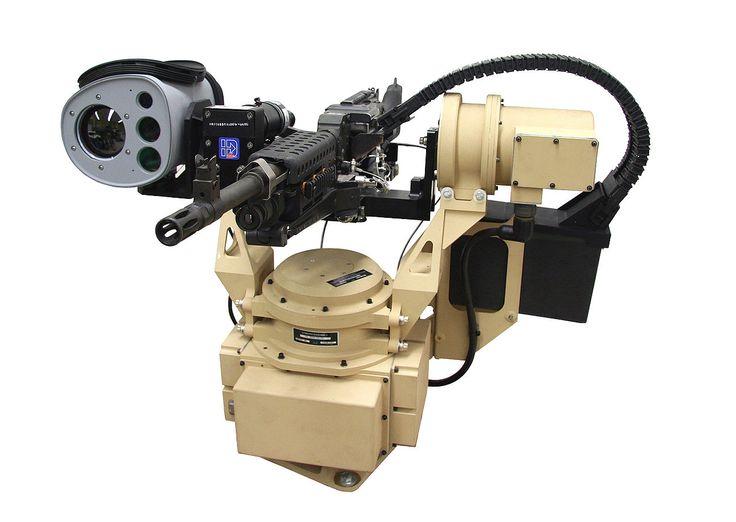 El arma estandar manejada por control remoto ( CUERVOS o CUERVOS II) es una estación de armas a distancia estadounidense que proporciona al operador la capacidad de adquirir y atacar objetivos , mientras que el interior de un vehículo, protegido por su armadura. Está diseñado para montar en una variedad de plataformas de vehículos y apoya la ametralladora de MK19 Grenade , calibre .50 M2 ametralladora , M240B ametralladora y M249 Squad Automatic Weapon .