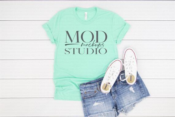 Download Best Free Tee Mockup Clothing Mockup T Shirt Mockup Mint Triblend Bella Psd Free Psd Mockup Templates Clothing Mockup Shirt Mockup Mockup Free Psd