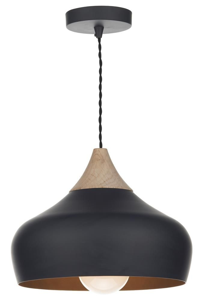 GAUCHO pendant by Dar Lighting: A really on-trend retro piece perfect for over the dining room table or kitchen island!