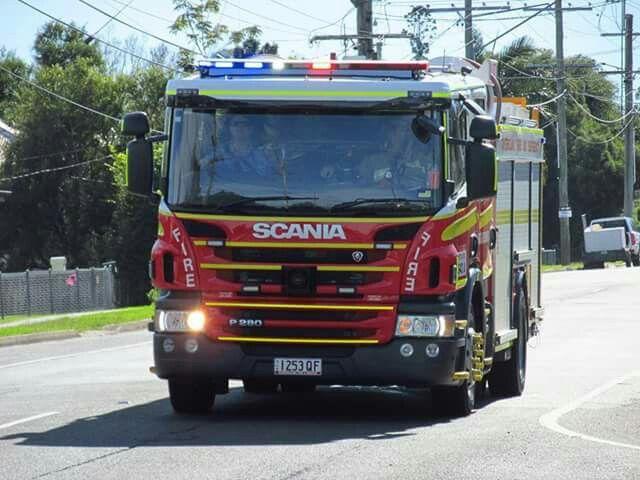Qld. Fire & Rescue - Bundamba 643A