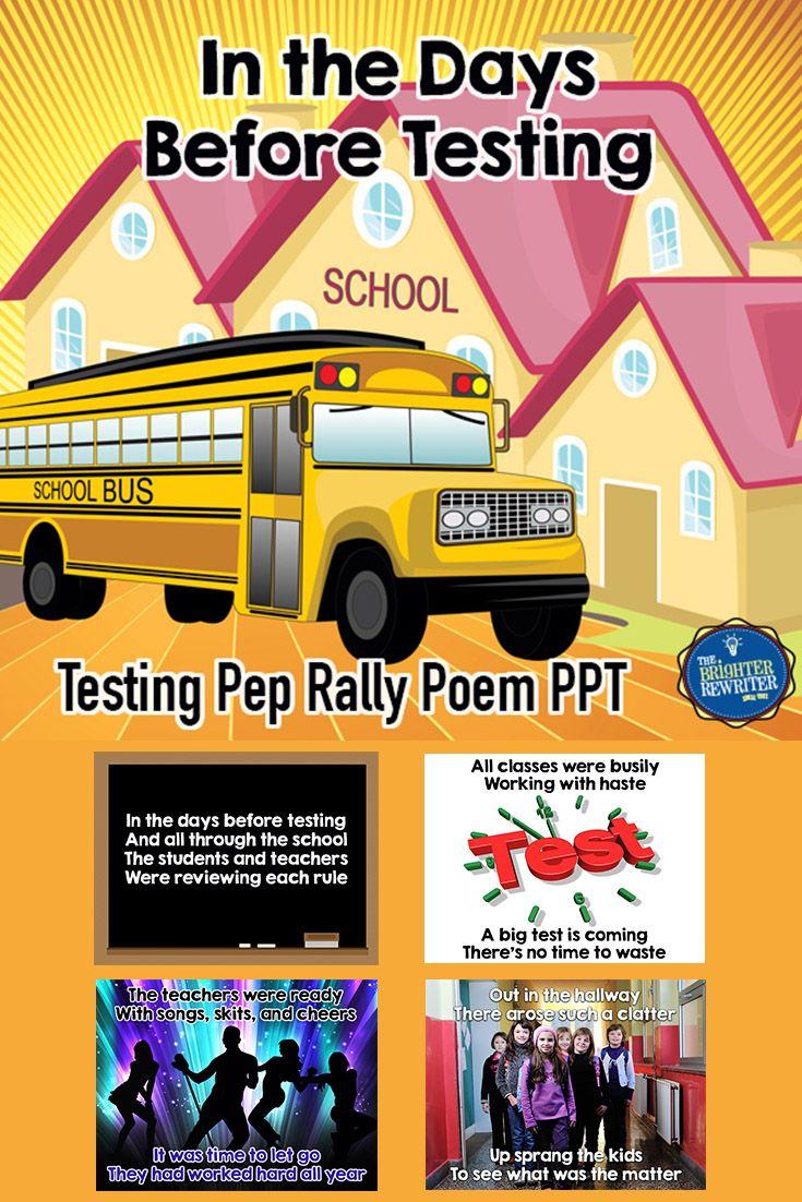 Pin On Testing Pep Rally Ideas