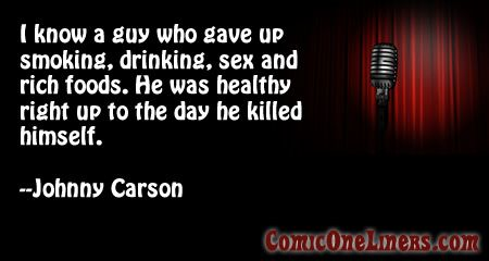 #COMEDY#QUOTES#HUMORA Guy That Gave It All Up, A Johnny Carson Quote