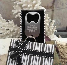 Best Man~Usher~Father of the GROOM~BRIDE~Gift~Personalized Engraved~BottleOpener