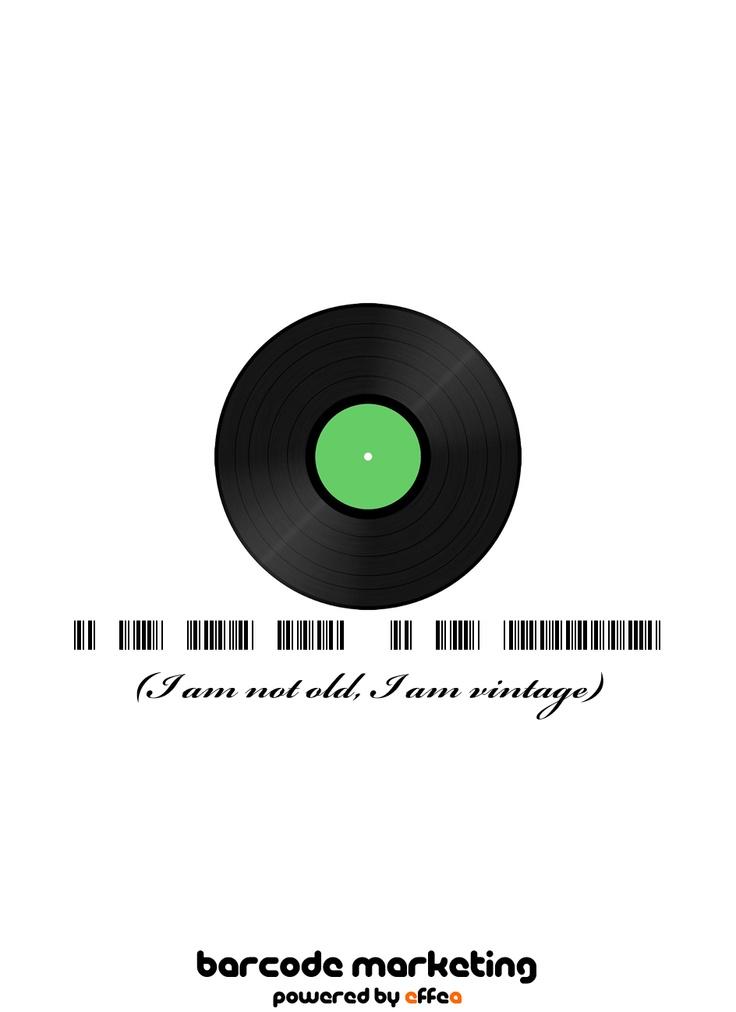 Barcode Vintage: I am not old, I am vintage