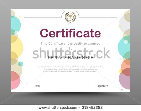 38 best Certificate template collection images on Pinterest - certificate designs templates