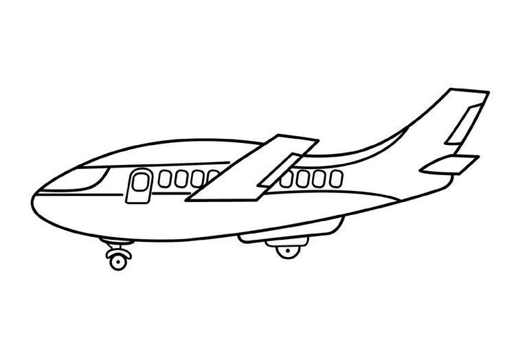 Airplane Coloring Pages To Print For Free http://procoloring.com/airplane-coloring-pages/