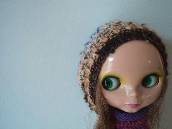 Crazy Yarn Oversize Jellyfish Hat for Blythe by Keur on Etsy, $25.00