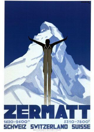 Zermatt Affiches par Pierre Kramer sur AllPosters.fr