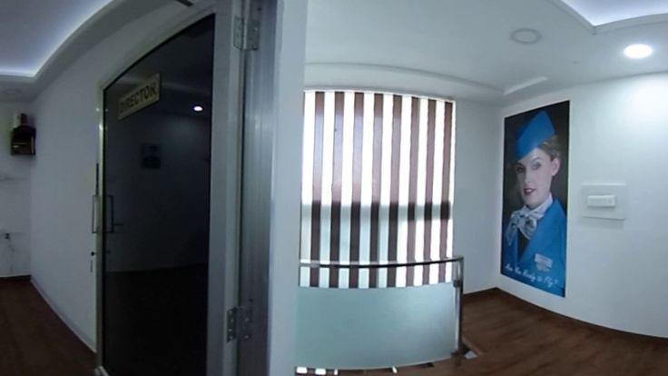 Aviation Training Institute, 360 Degree Video. #Jetfin #Aviation #Academy #Aladinn #Technology