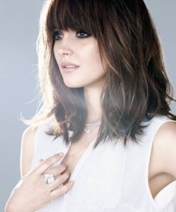 Medium Length Haircuts No Bangs Straight 64 Best Hair Styles N Cuts