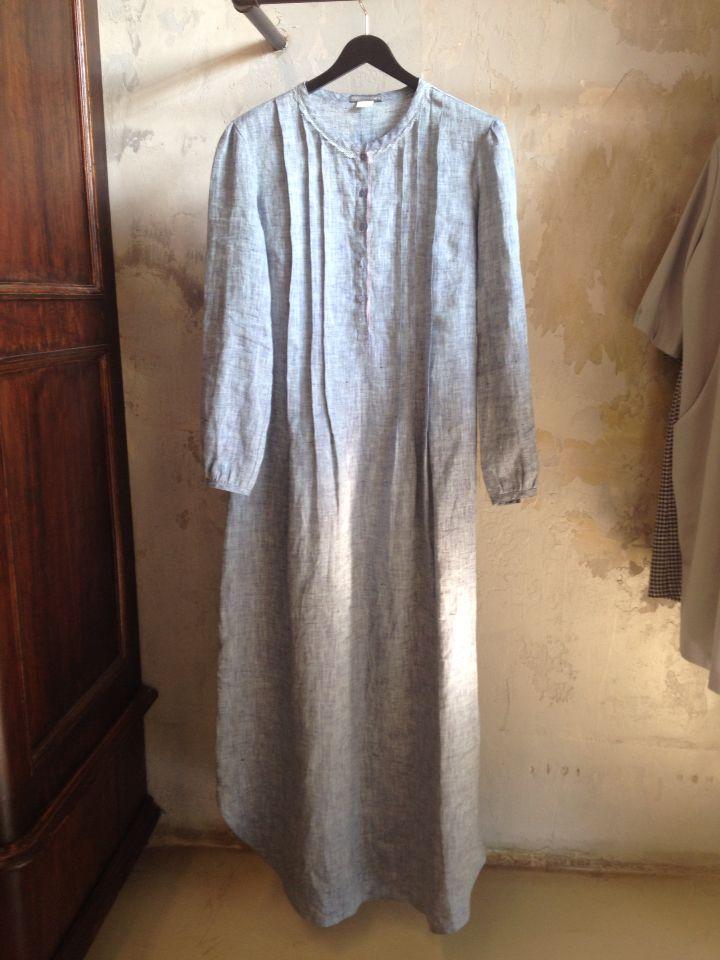 Платье-рубашка UGd, 100 % лен