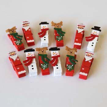 Christmas Design Pegs