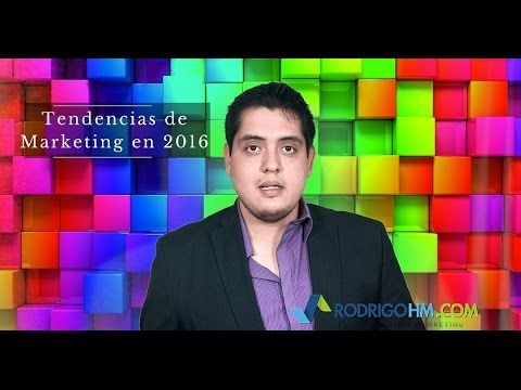 Tendencias Marketing 2016 - YouTube