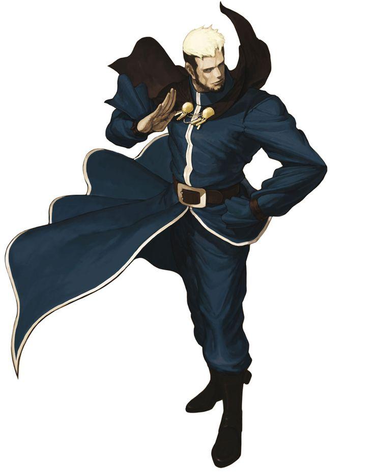 Goenitz - Characters & Art - SNK vs. Capcom: SVC Chaos