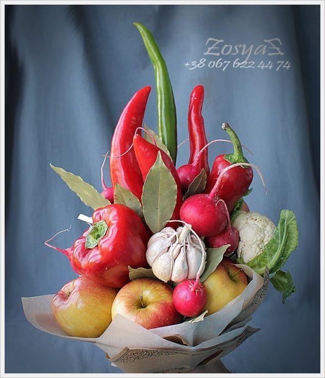 (19) Gallery.ru / Перец ЧиЛи - Букеты из овощей - zosyast