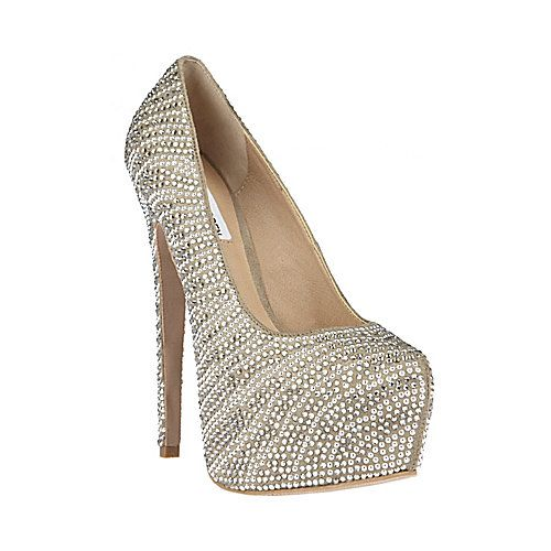 Jaw dropping(:: Madden Pumps, Shoes, Pewter Multi, Fashion, Style, Platform Pumps, Dyvinal Pewter, Steve Madden, Stevemadden